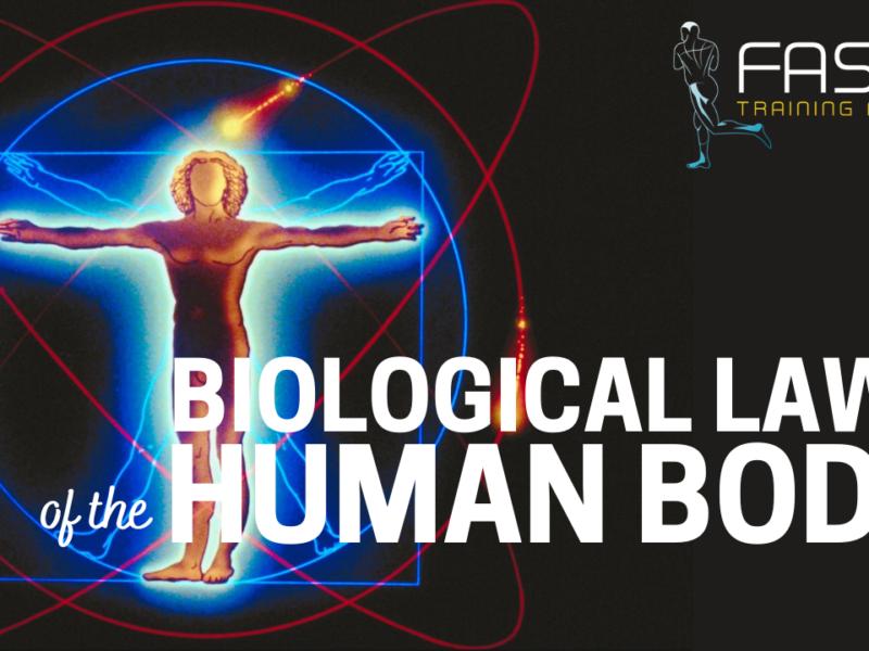Οι βιολογικοί νόμοι του ανθρώπινου σώματος